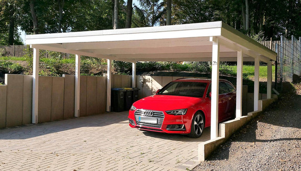 Top Individuelle Carports aus Holz - Qualität made in Germany UX34