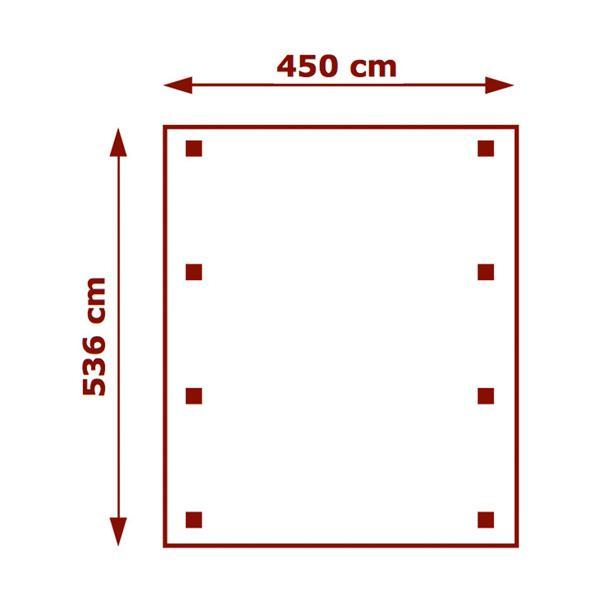 450cm x 536cm